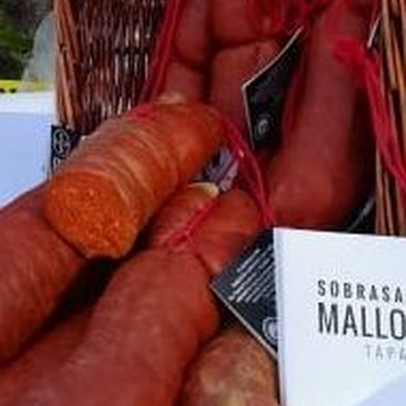 Sobrasada de Mallorca Semirrizada Picante 0,475-0,550 Kg:  de Ramaders Agrupats