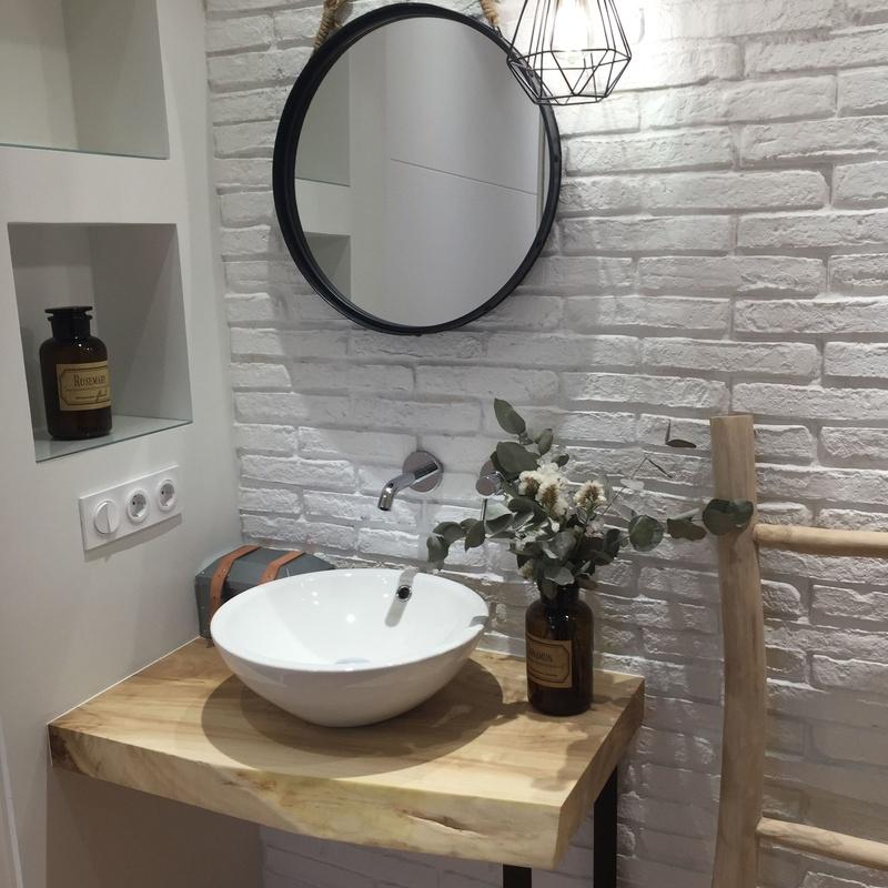 Reforma baño vintage