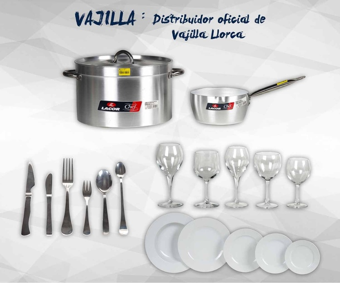 Menaje y maquinaria de hostelería: Productos de Exclusivas San Luis