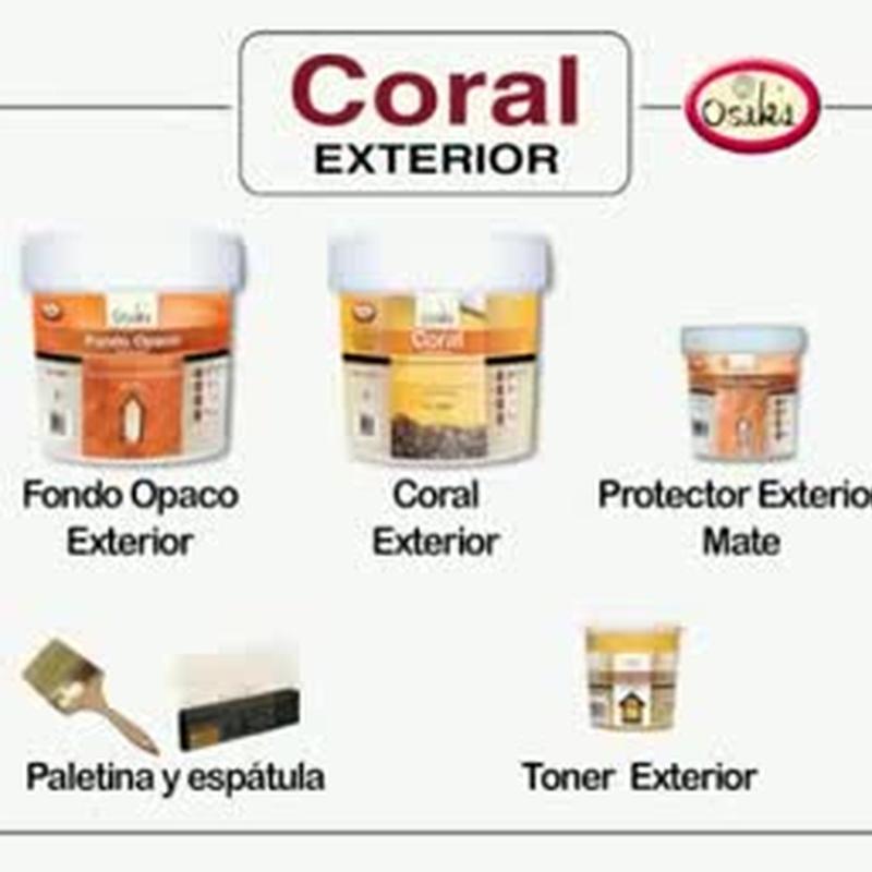 Coral OSAKA en tienda de pinturas en ciudad lineal.