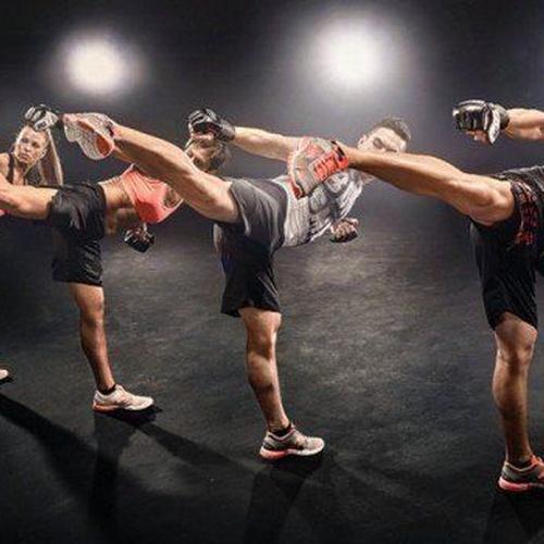 Clases de kick-boxing