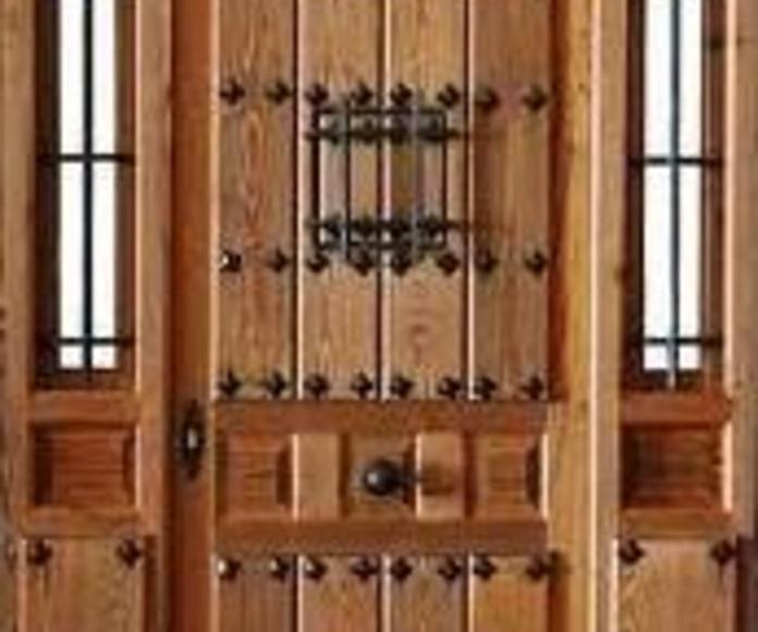 puertas exteriores. Fernando Campanero