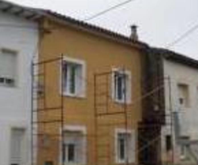 Aislamiento Térmico de fachada por el exterior: Servicios  de Thisan Construcciones y Reformas