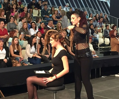 Gala de nuestra estilista Lorena Cobo en Tenerife para Alfaparf