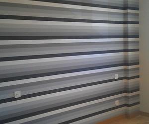 Colocación de papel en paredes