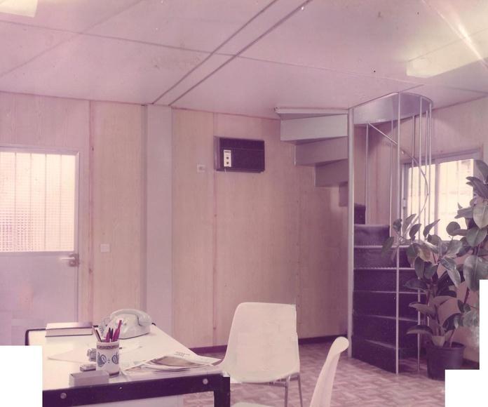 Primer modulo adosado y superponible 1983