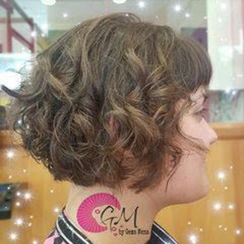 Corte y peinado: Servicios de Gema Mena Peluquería Hair Spa