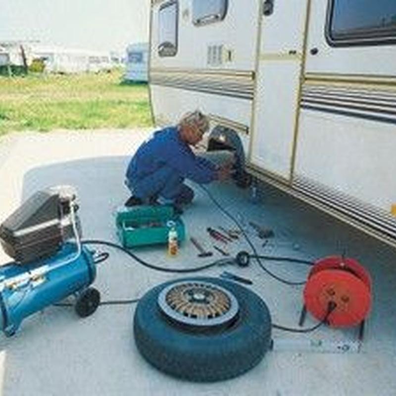 Taller reparaciones: Servicios de Caravan Inn, S.L.