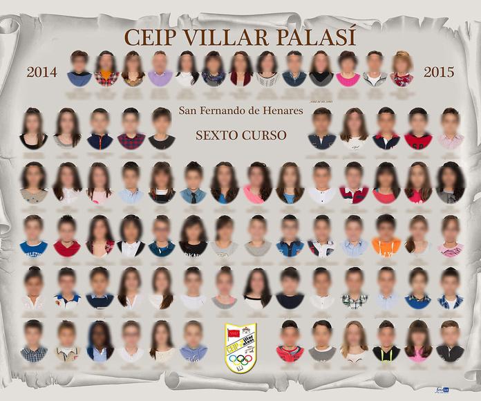 Orla de graduación Ceip Villar Palasí, San Fernando de Henares