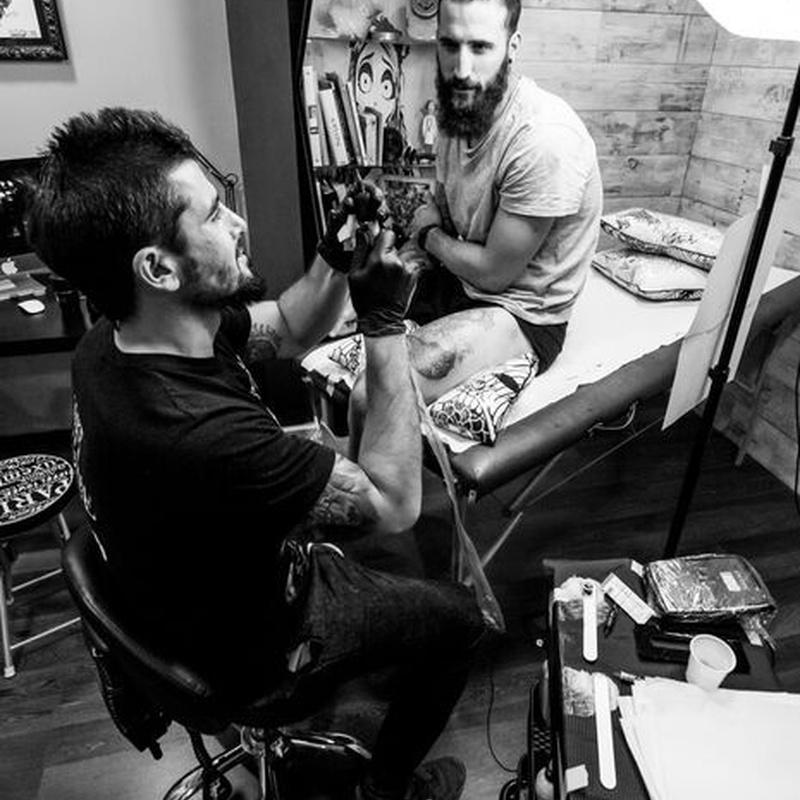 JR VERGER: Tatuajes de Verger Tattoo