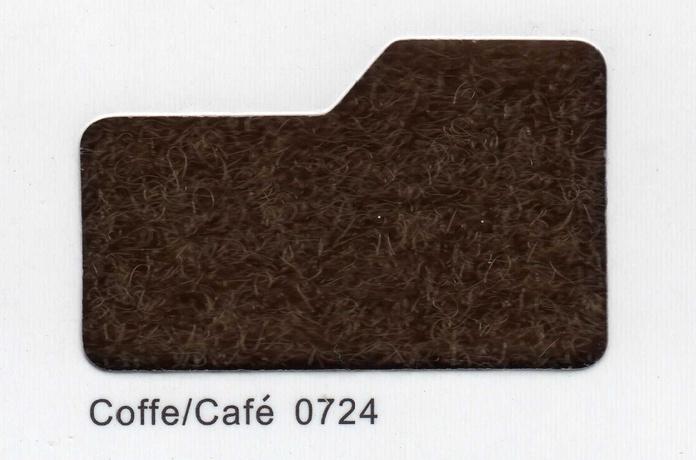 Cinta de cierre Velcro-Veraco 50mm Café 0724 (Gancho).