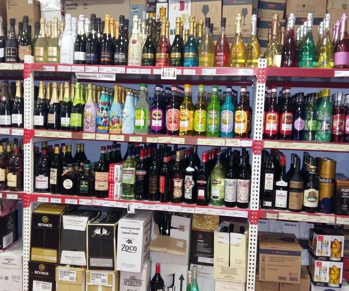 Bebidas alcohólicas: Productos de Cash Tomelloso