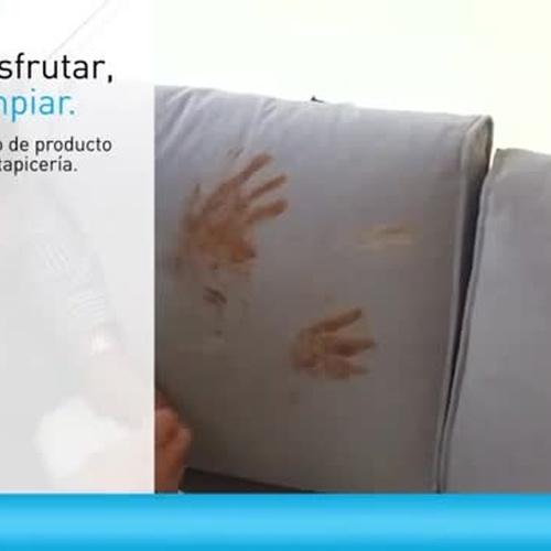 """""""Aquaclean"""" Como limpiar tu sofá en tiempo real."""
