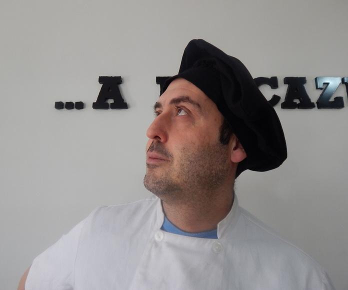 Chef Luis Zafra del Restaurante A la Cazuela