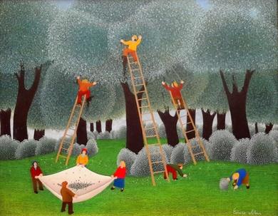 Premios del Publico 2017 de la V Exposición Internacional de Arte Naif