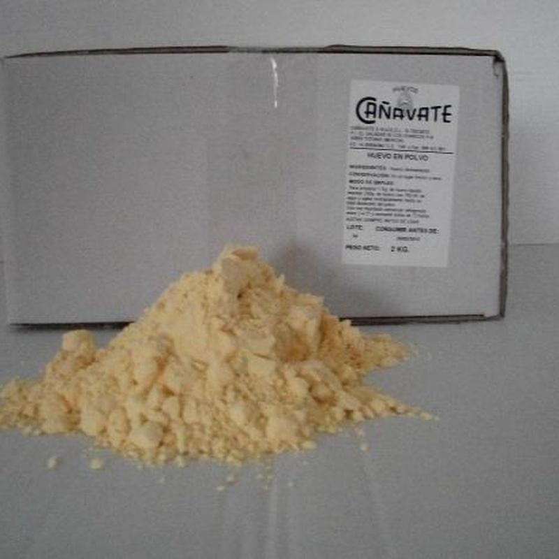 Huevo en Polvo: Productos de Huevos Cañavate