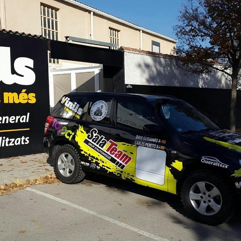 Rotulación para locales y vehículos: Servicios de Vinils i Més