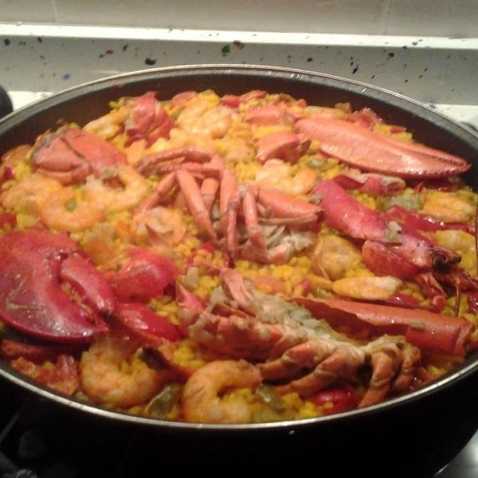 El arroz con bogavante