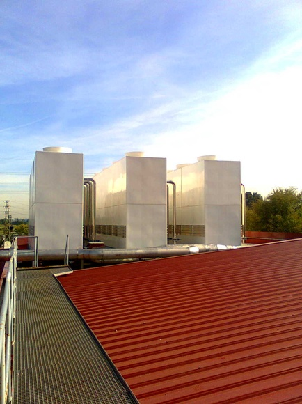 Torres de Refrigeración NUCLEOS. Control y Ventilación, S.L.