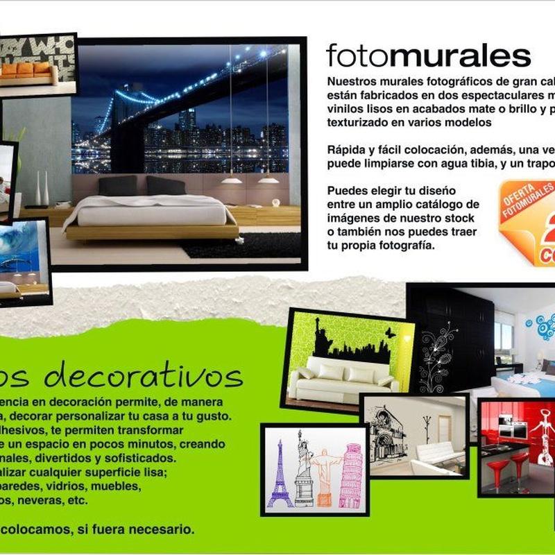 Vinilos decorativos y fotomurales: Productos de Graffiti Soria, S.L.
