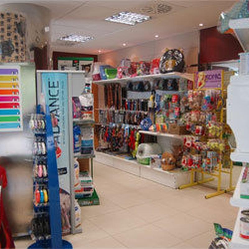 Tienda especializada: Productos y servicios  de C.Vet.Mon Animal Berga