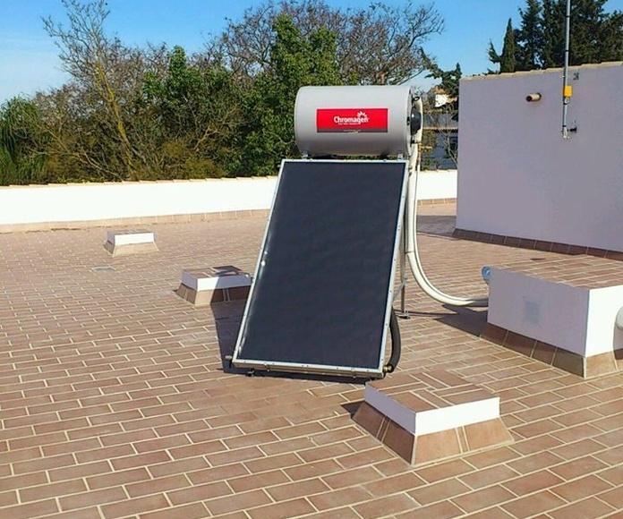 Paneles Solares: Servicios de J. Ordoñez Instalaciones