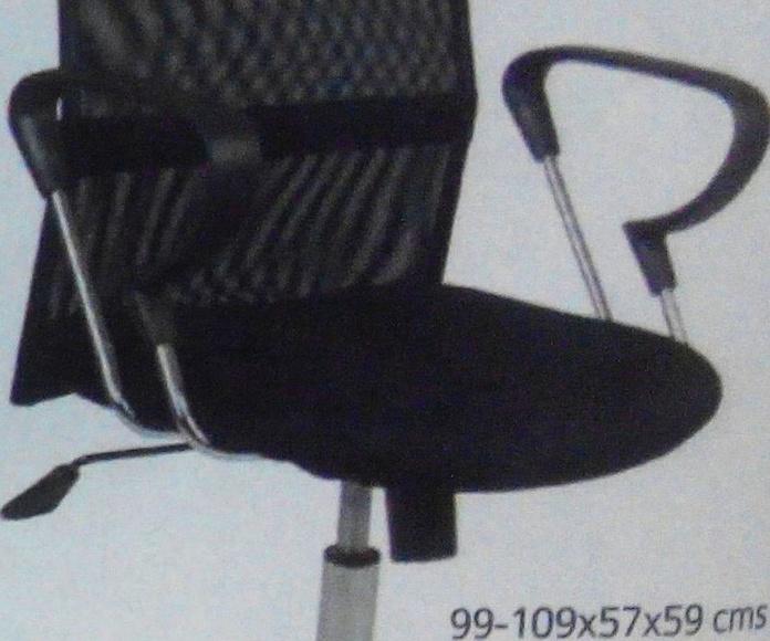 silla despacho/escritorio mod.42: Productos  de Muebles Llueca, S. L.
