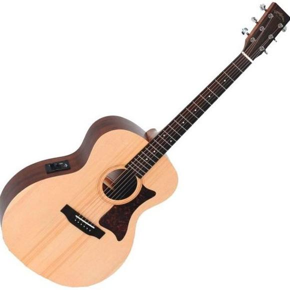 Guitarra electroacustica Sigma GME PREVIO AFINADOR