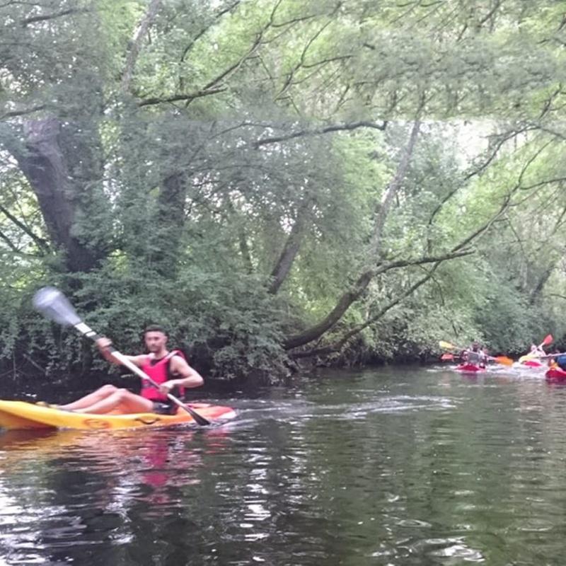 Kayaks: Actividades de Taberna O´Cruceiro Multiaventura
