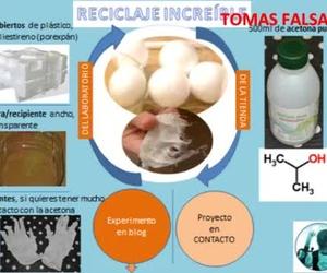 Reciclaje increíble: tomas falsas