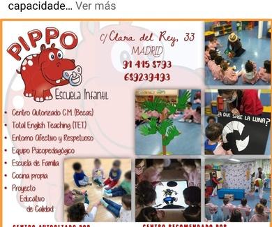 Escuela Infantil Pippo: reconocida por AMEI-WAECE