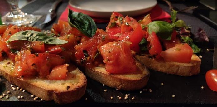 Bruschette: Carta de Rustico Pizza e Vino