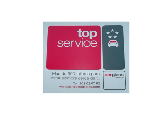 Acreditación taller TOP SERVICE