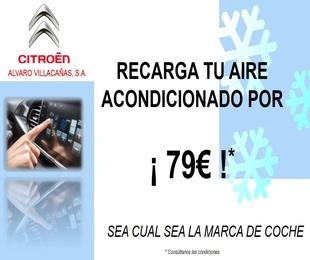 PROMOCION RECARGA AIRE ACONDICIONADO 79€ *