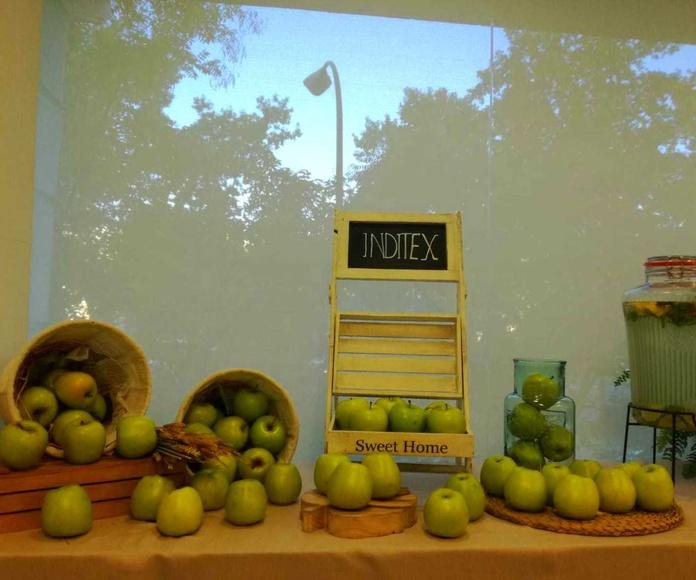 Corner green en INDITEX con Catering Doménico