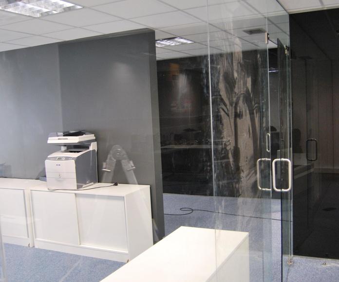 Mampara de oficina Madrid de CRISTALERA MADRILEÑA
