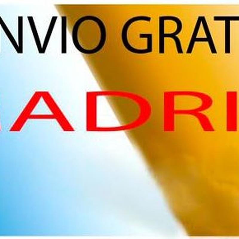 Envio gratis en la comunidad de Madrid.