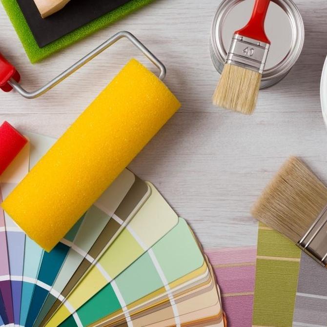 Las herramientas y complementos básicos para pintar tu casa