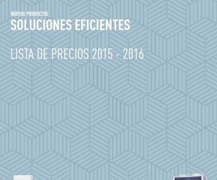 Catálogo Panasonic 2015/2016 Madrid