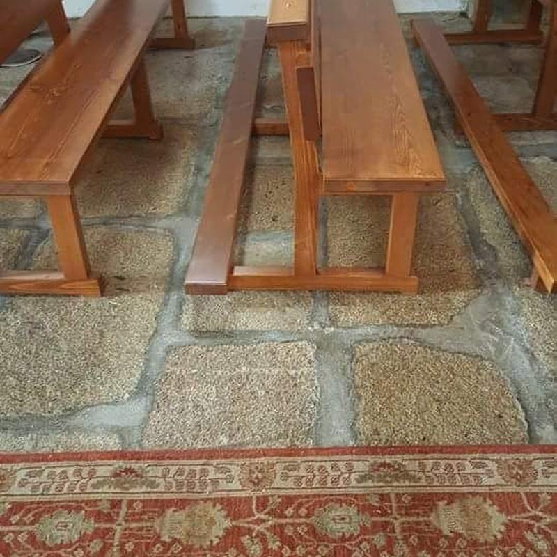Más elementos de madera: Productos y Servicios  de Carpintería Florencio Veiga