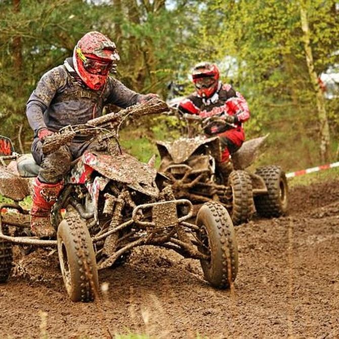El equipamiento básico para conducir un quad