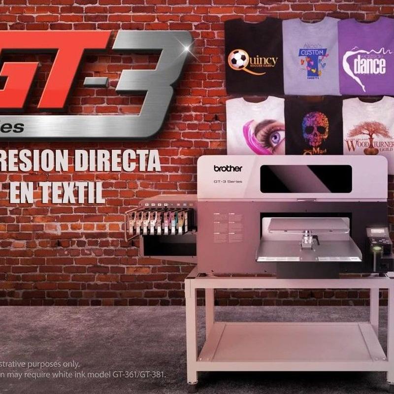 Impresión de camisetas Madrid