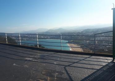 Construcciones en el Monte Igueldo