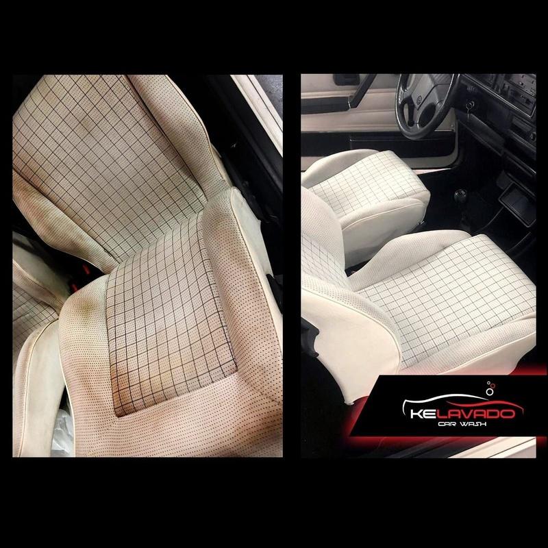 Limpieza de tapicería de vehículos: Servicios de KeLavado Car Wash
