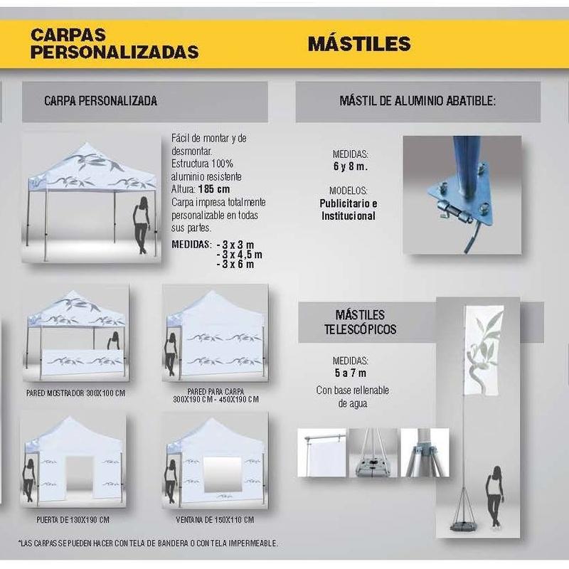 BANDERAS Y MASTILES: Visual comunicacion de Eben - Ezer