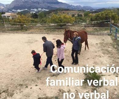 Coaching con Caballos y NaturCoaching en familia, disfrutar juntos