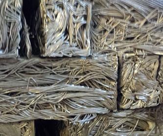 Aluminio: Productos  de Hierros y Metales Ferrer, S.A.