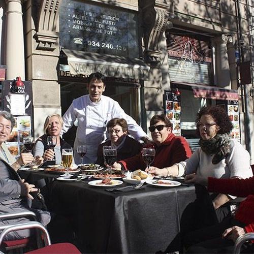 Restaurante para grupos en el Eixample, Barcelona