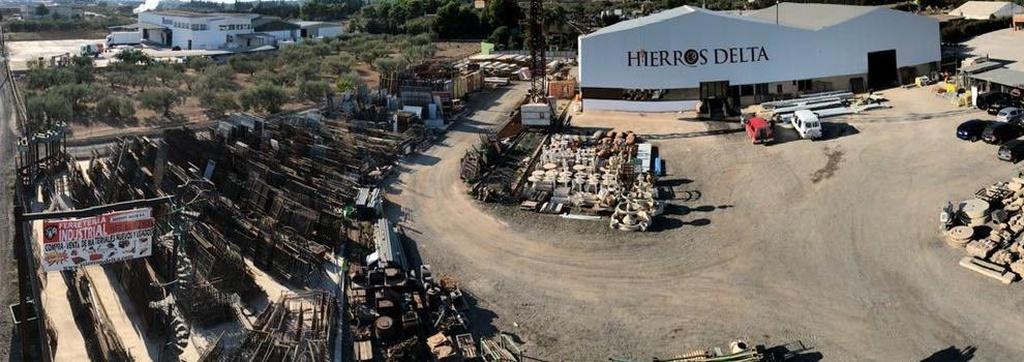 Almacén de materiales de construcción en Tarragona: Hierros Delta