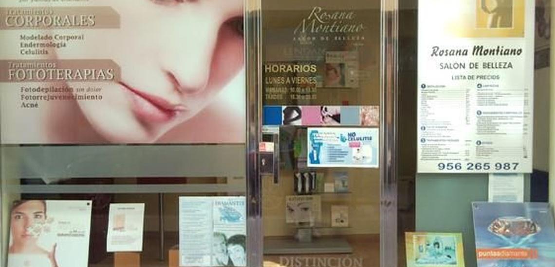 Rosana Montiano - Salón de Belleza: centro con radiofrecuencia facial en Cádiz